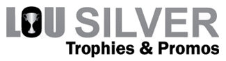 Lou Silver Trophies & Promos Sticky Logo